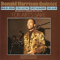 Donald Harrison - For Arts Sake